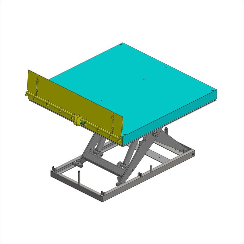 Pont de liaison hydraulique pour table élévatrice