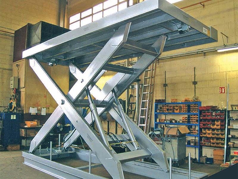fabricant de Tables élévatrices industrielles