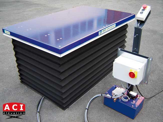 fabricant de Tables élévatrices extra-plates