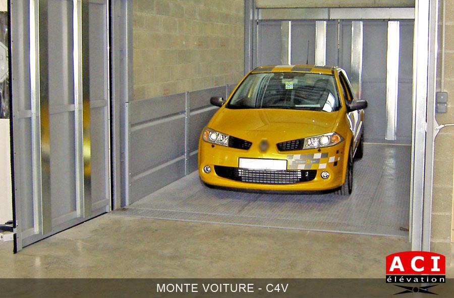 Monte-voiture - C4V