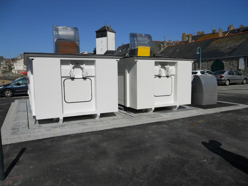 Monte benne à déchets - TMB